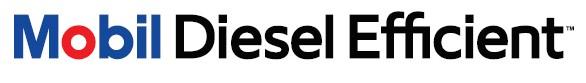 Mobil Diesel Efficient Logo