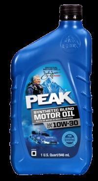 Peak 10w-30 Synthetic blend