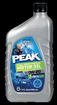 Peak 0w-20 Full synthetic
