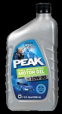 Peak 10w-30 Full synthetic