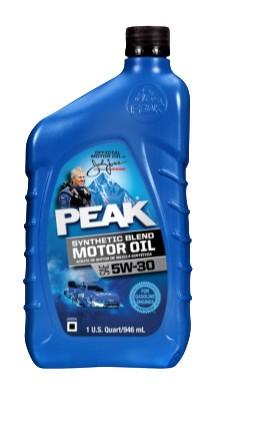 Peak 5w-30 Synthetic blend